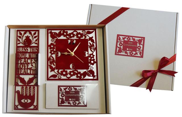 מארז מהודר שעון תליון ופנקס