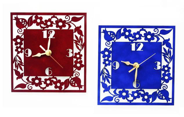 שעון קטיפה רימונים