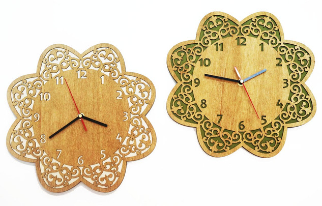 שעון פרח 2