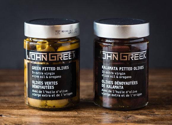 John Greek Pitted Olives