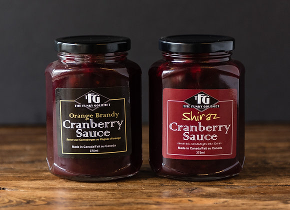 The Funky Gourmet Cranberry Sauce