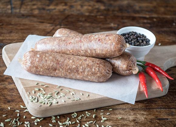 Hot Italian Sausage – Pork