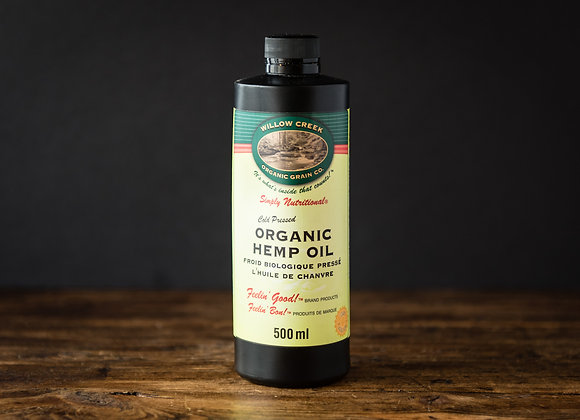 Willow Creek Organic Hemp Oil