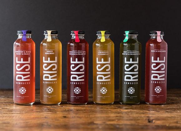 Rise Kombucha Drinks