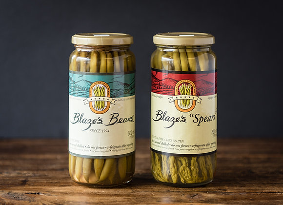 Pickled Beans or Asparagus