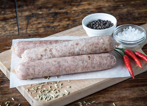 Hot Italian Sausage – Turkey
