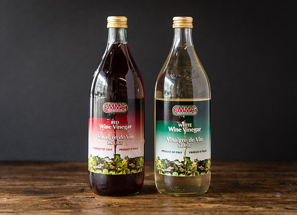 Emma's Red & White Wine Vinegars