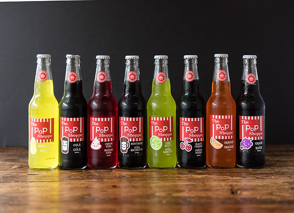 Pop Shoppe soft drinks