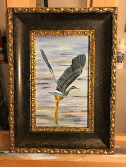 Dancing Heron