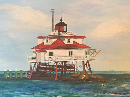 Thomas Pt. Lighthouse - Annapolis, Maryland