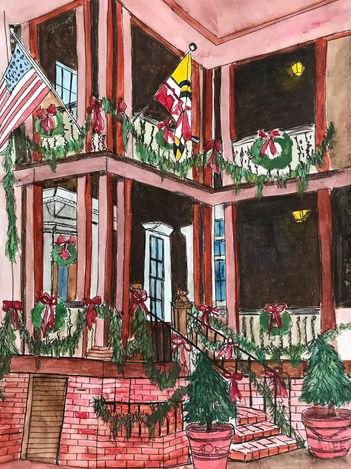 Maryland Inn at Christmas