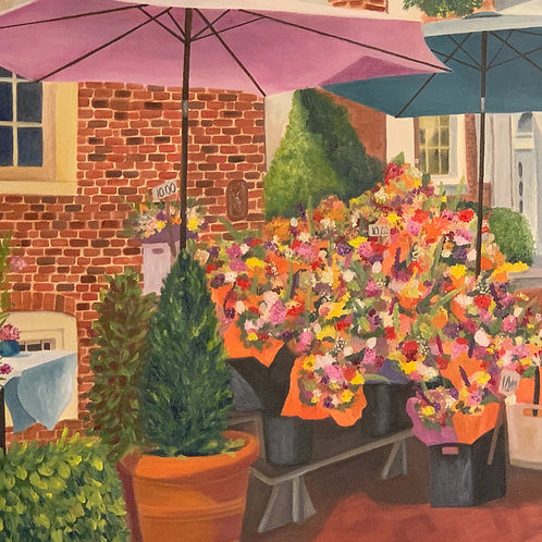 Flower Market at Reynolds Tavern - Annapolis, Maryland