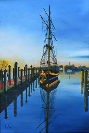Pride of Baltimore II at Annapolis City Dock