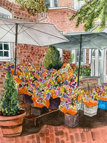 Flower Market at Reynolds Tavern Annapolis, MD