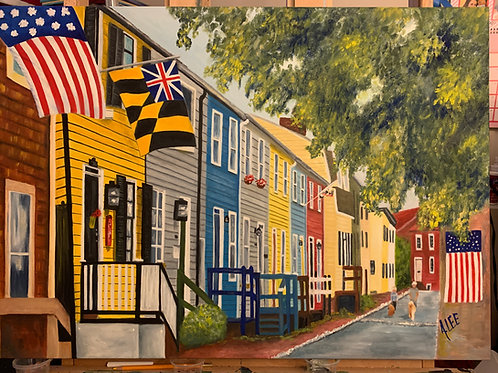 Pinkney Street - Annapolis, Maryland