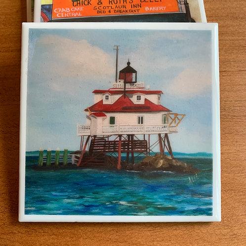 Thomas Point Shoal Lighthouse - Annapolis, Maryland