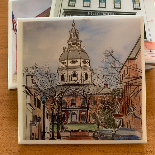 Maryland State House, Francis St. - Annapolis, Maryland