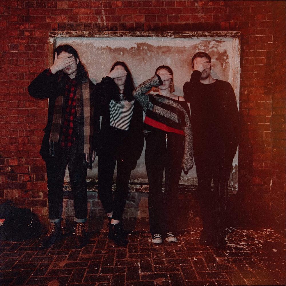 Borogoves (l-r): Jake, Kez, Mara, and me.