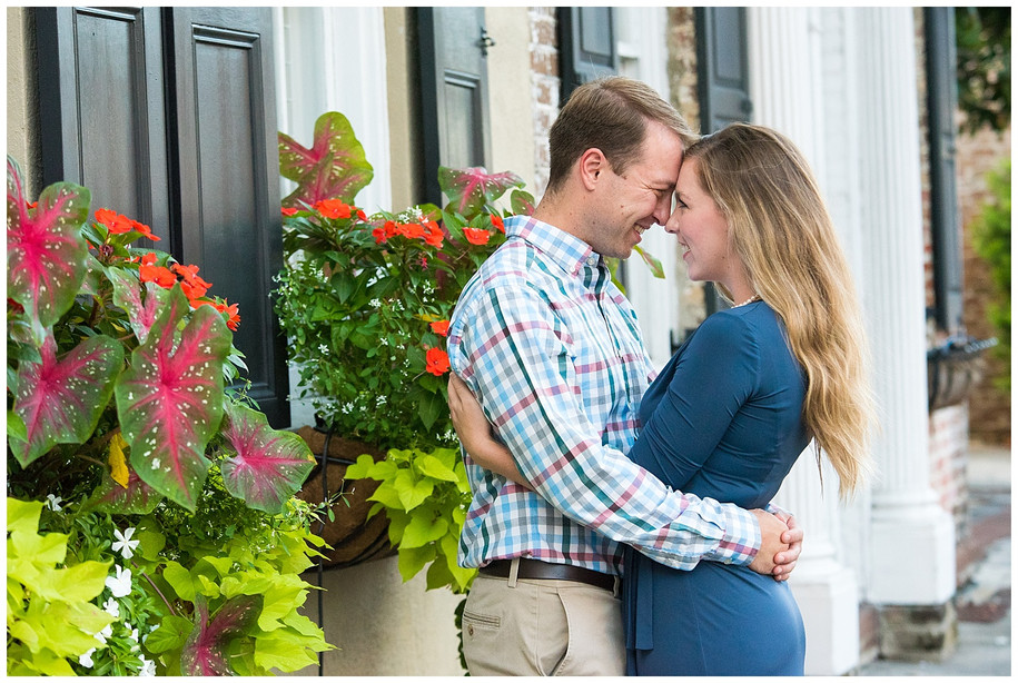 Kathryn + Sean || Classic Downtown Charleston Engagement Session