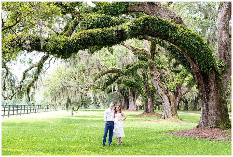 Bryn + Keith // Classic, Fun Boone Hall Summer Engagement Session