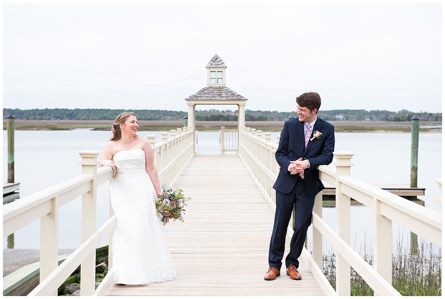Emily + Ben || Intimate Lavender, Dusty Rose, + Navy Mingo Point Wedding