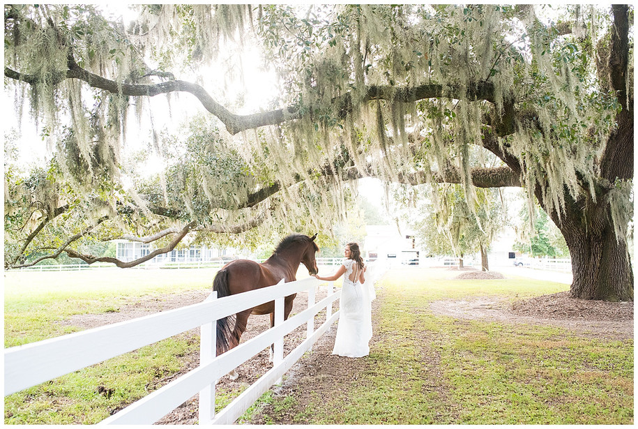 Lauren || Rustic Farm Bridal Portraits in Beaufort, SC