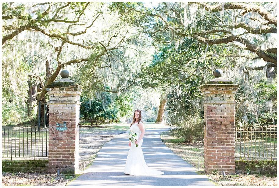 Rebecca || Classic Bridal Portraits at Charles Towne Landing