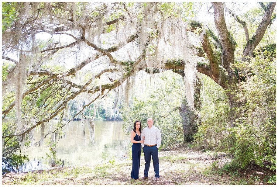 Anna + William || Sunny Springtime Charles Towne Landing Engagement Session