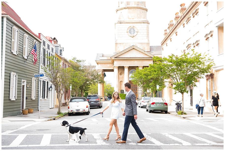 Jan + Greg || Sweet Springtime Downtown Charleston Engagement Session