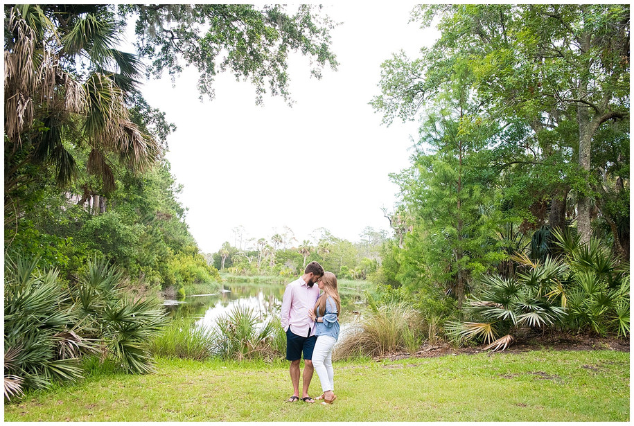 Emily + Ben || Sweet Kiawah Island Engagement Session