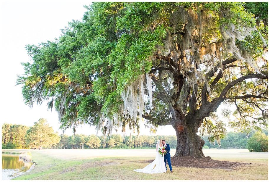 Ginnie + Zach || Bright, Tropical, Southern Wingate Plantation Wedding