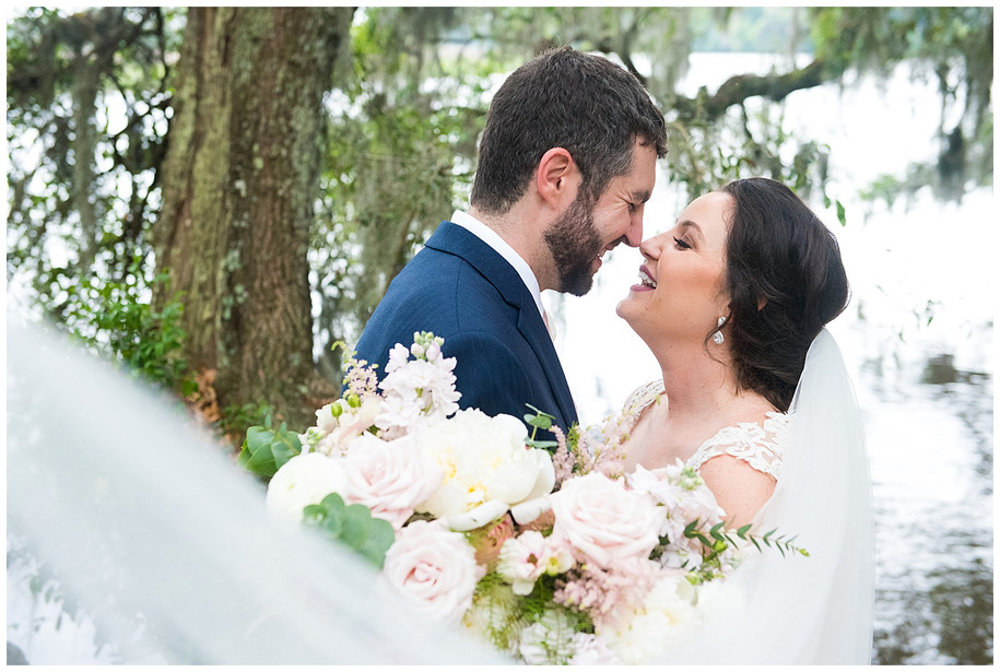 Sarah + John || Springtime Dusty Rose Magnolia Plantation Wedding