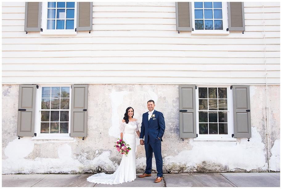 Sarah + Jeff || Romantic Pink + Gold Fall Wedding at the Cedar Room