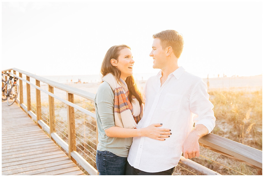 Kelsey + Greg    Sweet Hilton Head Island Engagement Session