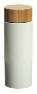 Volay 340 ml. (11.5 fl. Oz.) Bottle with Bamboo Lid
