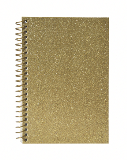 Jovi Glitter Spiral Journal
