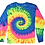 Thumbnail: Colortone Tie-Dye Long Sleeve Shirt