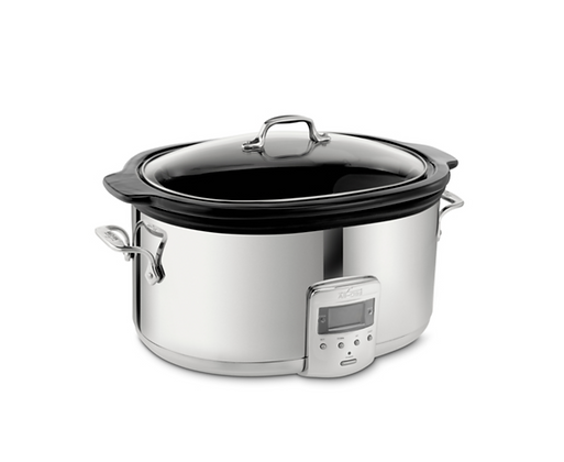 ALL-CLAD Slow Cooker 6.5Qt with Black Ceramic Insert