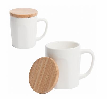 Bamboo Chic Mug with Bamboo Lid
