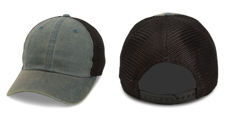 Pigment Washed Soft Mesh Cap