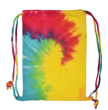 Colortone Tie-Dye Drawstring Bag