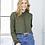 Thumbnail: BELLA+CANVAS Women's Cropped Fleece Hoodie