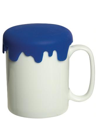 380 ml. (13 fl. Oz.) Charleston Porcelain Mug with Lid