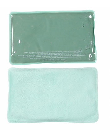 Plush Large ComfortClay® Hot/Cold Pack - Green