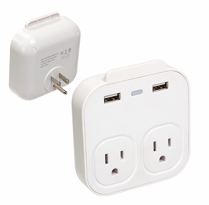Console Wall Charger + Phone Holder