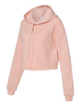 BELLA+CANVAS Women's Cropped Fleece Hoodie