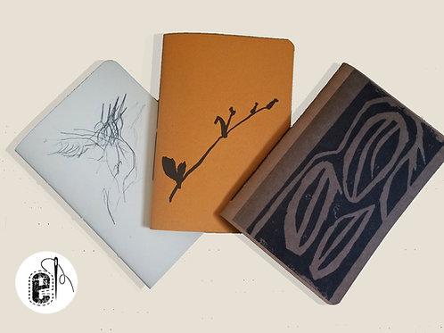Kit Coleção Cadernos Roteiro de Ateliês