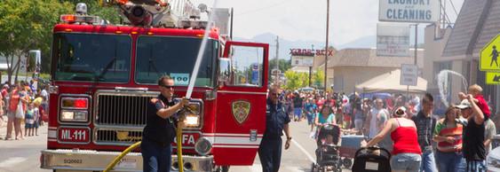 Community Parade in Magna