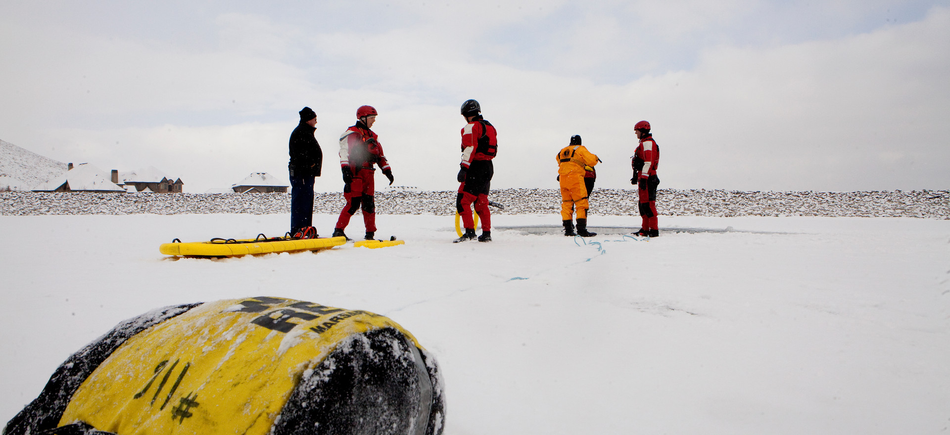 Community Ice Rescue Training
