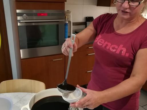 Réalisation du vin de noix